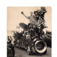 Postales: SAN SEBASTIÁN.(GUIPÚZCOA).- CARNAVAL DE 1908.- S.M. EL CARNAVAL.. Lote 232047430