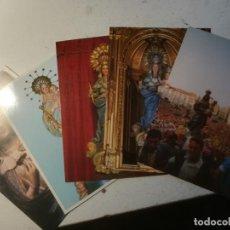 Postales: VITORIA-GASTEIZ, COFRADÍA DE LA VIRGEN BLANCA. CONJUNTO DE 5 POSTALES.. Lote 232743938