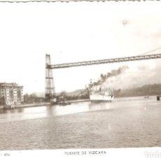 Postales: PORTUGALETE 404 PUENTE DE VIZCAYA SIN CIRCULAR. Lote 233260205