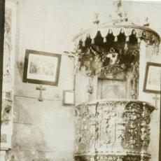 Postales: GUIPUZCOA PASAJES DE SAN JUAN. IGLESIA. HACIA 1910. MUY RARA.. Lote 233917000