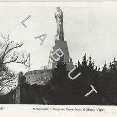 Postais: SAN SEBASTIAN MONUMENTO AL SAGRADO CORAZON MANIPOL POSTAL C42. Lote 234411250