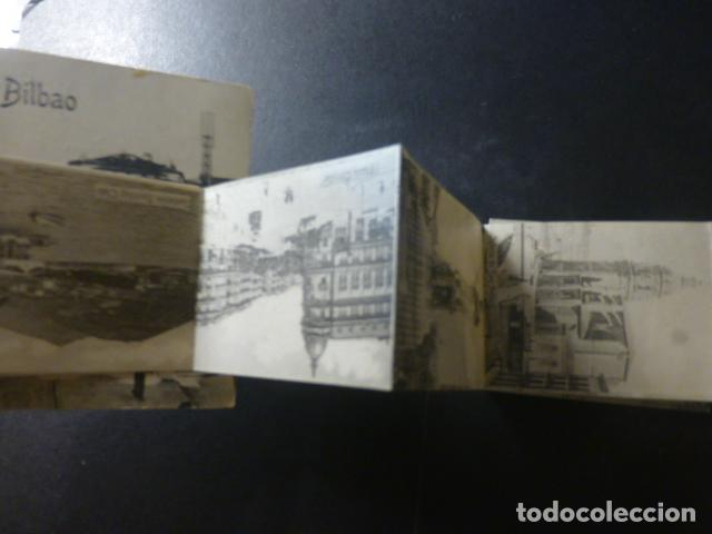 Postales: BILBAO RECUERDO PUENTE DEL ARENAL POSTALCON TIRA DESPLEGABLE - Foto 2 - 234894700