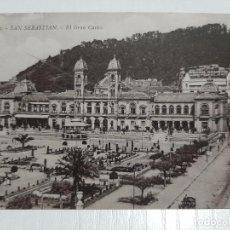 Postales: SAN SEBASTIÁN EL GRAN CASINO. Lote 234993255