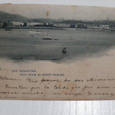 Postales: SAN SEBASTIÁN VISTA DESDE EL MONTE IGUELDO. Lote 234993855