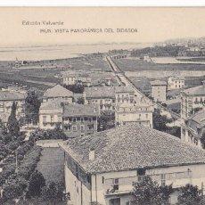 Postales: IRUN, PANORAMICA DEL BIDASOA. EDICION VALVERDE, HAUSER Y MENET. SIN CIRCULAR. Lote 235156155