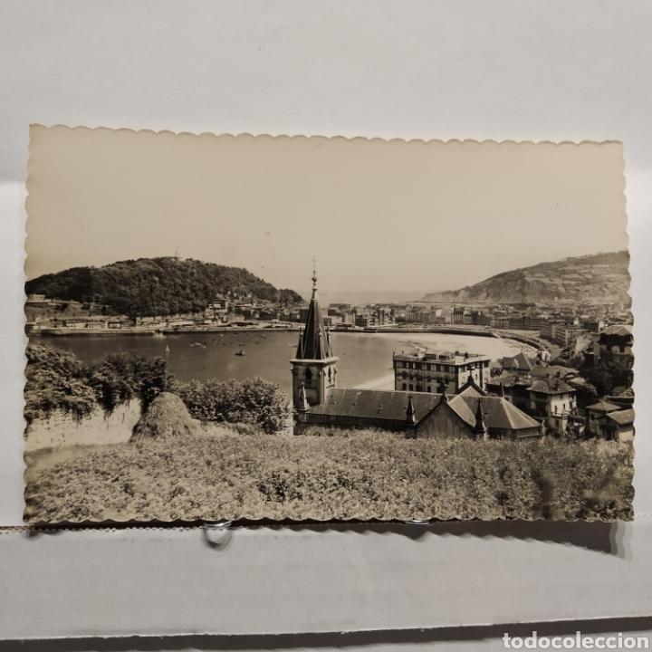 33 SAN SEBASTIAN, VIST APARCIAL, EDICIÓN LUJO ZARAGOZA (Postales - España - País Vasco Moderna (desde 1940))