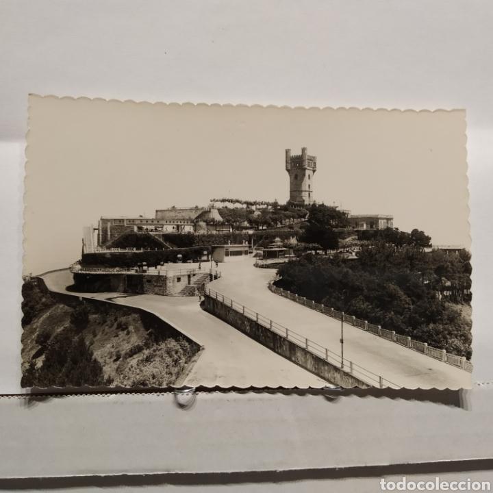 85 SAN SEBASTIAN, MONTE IGUELDO, PARQUE DE ATRACCIONES, EDICIÓN LUJO ZARAGOZA (Postales - España - País Vasco Moderna (desde 1940))
