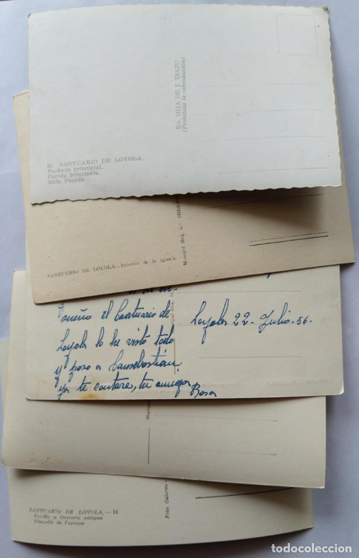 Postales: AZPEITIA SANTUARIO DE LOYOLA LOTE 5 POSTALES - Foto 2 - 236134160