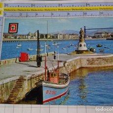 Cartoline: POSTAL DE VIZCAYA. AÑO 1962. SANTURCE, MONUMENTO A LA VIRGEN DEL CARMEN. 8 DOMÍNGUEZ. 496. Lote 236800990