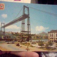 Postales: LAS ARENAS VIZCAYA PVENTE COLGANTE ED ESCVDO ORO 2 CIRCVLADA. Lote 237372085