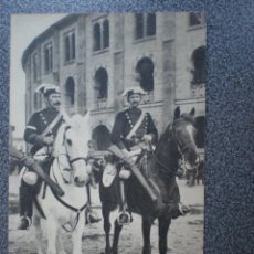 Postales: PAIS VASCO SAN SEBASTIAN LA GUARDIA CIVIL A CABALLO POSTAL AÑO 1910. Lote 237881310