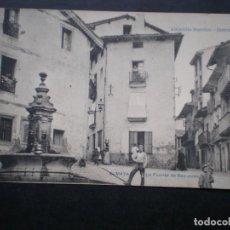 Postales: POSTAL ANTIGUA ZUMAYA LA FUENTE DE SAN JUAN. Lote 34909782