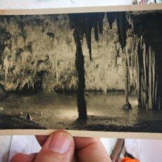 Cartes Postales: POSTAL CARRANZA VIZCAYA GRUTA ENCANTADA DE POZALAGUA HUECOGRABADO ARTE 1959 ESCRITA Y SELLADA. Lote 237929455