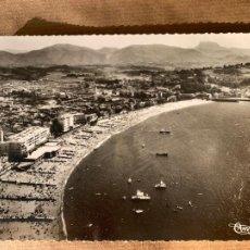 Postales: POSTAL SAN JUAN DE LUZ 1962 PARA EL CAFE VICENTINO CEUTA. Lote 238286565