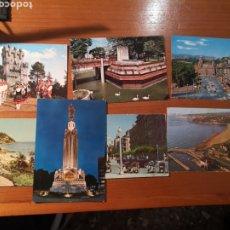Postales: 7 POSTALES PAIS VASCO AÑOS 60. Lote 238489395