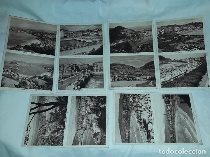 LOTE 6 POSTALES ANTIGUAS SAN SEBASTIÁN (Postales - España - Pais Vasco Antigua (hasta 1939))