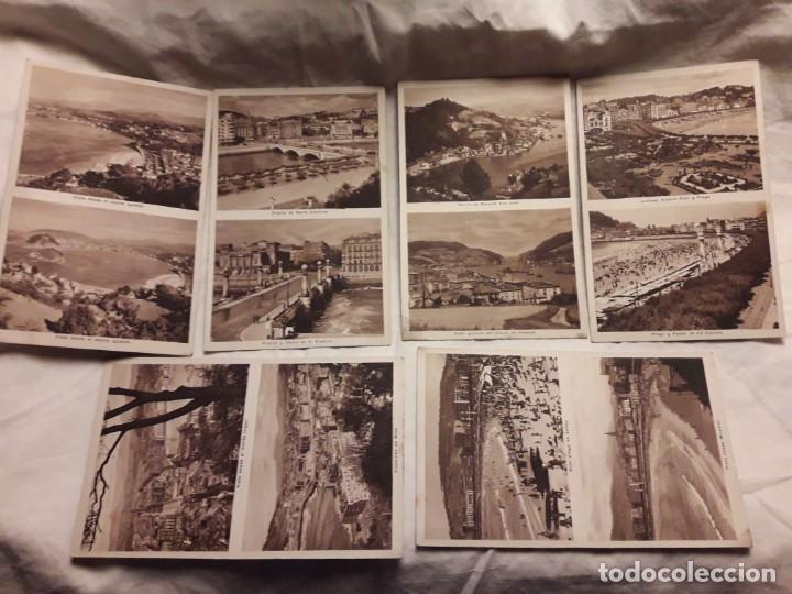 Postales: Lote 6 postales antiguas San Sebastián - Foto 2 - 238675545