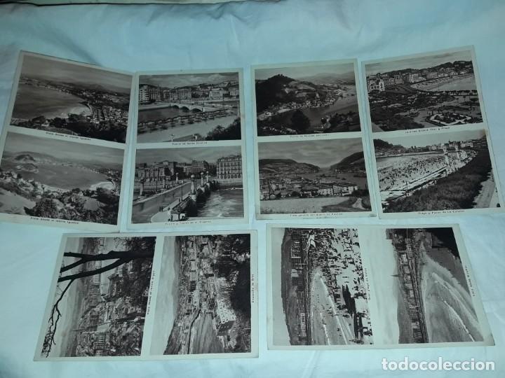 Postales: Lote 6 postales antiguas San Sebastián - Foto 3 - 238675545