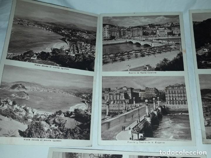 Postales: Lote 6 postales antiguas San Sebastián - Foto 4 - 238675545