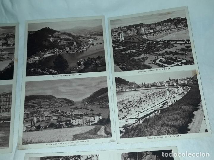 Postales: Lote 6 postales antiguas San Sebastián - Foto 5 - 238675545