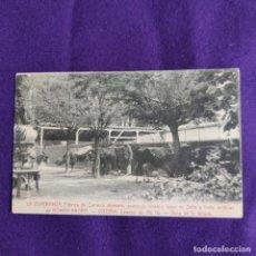 Postales: POSTAL DE VITORIA (ALAVA). FABRICA DE CERVEZA ROMAN KNORR. VISTA DE LA GRANJA. ORIGINAL.. Lote 239835815