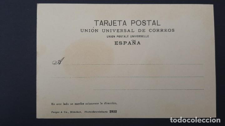 Postales: LOTE 040221.- POSTAL BILBAO VISTA ALGORTA ED: PURGER & CO - Foto 2 - 239858875