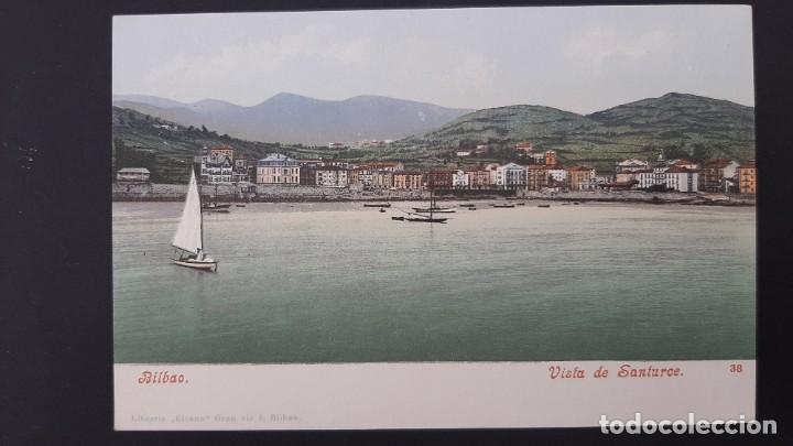 LOTE 040221.- POSTAL BILBAO VISTA DE SANTURCE ED: PURGER & CO (Postales - España - Pais Vasco Antigua (hasta 1939))