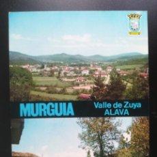 Postales: MURGUIA, ÁLAVA, EUSKADI. VALLE DE ZUYA. GARRIDO Nº 81. Lote 241008165