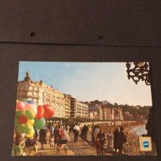 Postales: POSTAL DE SAN SEBASTIAN - PASEO DE LA CONCHA - BONITAS VISTAS - LA DE LA FOTO VER TODAS MIS POSTALES. Lote 241185435