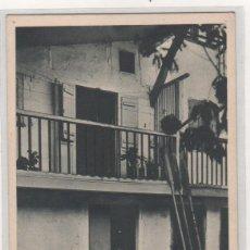 Postales: FUENTERRABIA LA CASA DEL ANZOLERO. EDICIONES MUSEUM. SAGARZAZU. SIN CIRCULAR.. Lote 241917705