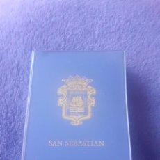 Postales: CARTERITA DE 10 POSTALES DE SAN SEBASTIAN ,AÑOS 70. Lote 243188220