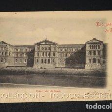 Postales: POSTAL RECUERDO DE BILBAO VIZCAYA UNIVERSIDAD DE DEUSTO - ELEUTERIO VILLAR AÑO 1899 O ANTERIOR. Lote 243219190