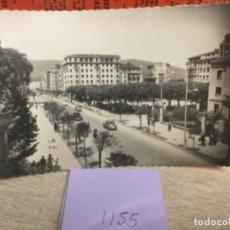 Postales: POSTAL ANTIGUA. BLANCO Y NEGRO - PAIS VASCO - REF, 1155 IRÚN PASEO DE COLON. Lote 243794990