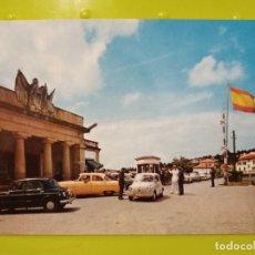 Postales: BEHOBIA ADUANA ESPAÑOLA DOMINGVEZ 1 SC 1962 SEAT 600 COCHES CLASICOS PAIS VASCO. Lote 243823270