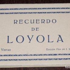 Postales: CUADERNILLO DE LOYOLA, AZPEITIA (GUIPUZCOA), CONTENIENDO 10 POSTALES, EIDC. HIJA DE J. IRAZU. Lote 243855690
