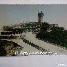 Postales: SAN SEBASTIAN. MONTE IGUELDO. PARQUE DE ATRACCIONES. Lote 243866375