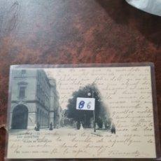 Postales: POSTAL DE SAN SEBASTIÁN, LA PLAZA DE GUIPÚZCOA. Lote 243929470