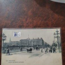 Postales: POSTAL DE SAN SEBASTIÁN, PUENTE DE SANTA CATALINA. Lote 243929535