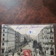 Postales: POSTAL DE BILBAO, LA GRAN VIA. Lote 243929655