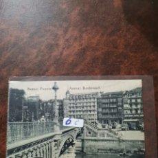 Postales: POSTAL DE BILBAO, PUENTE DEL ARENAL, BOULEVARD. Lote 243929680