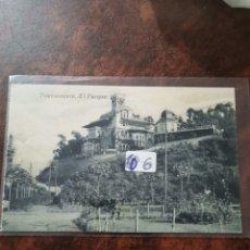 Postales: POSTAL DE PORTUGALETE, EL PARQUE. Lote 243929720