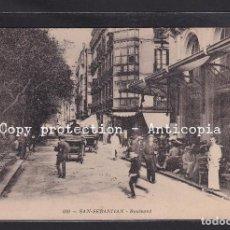 Postales: POSTAL DE ESPAÑA - 210 - SAN SEBASTIAN - BOULVARD. Lote 244002415