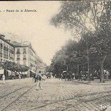 Postales: POSTAL SAN SEBASTIÁN, PASEO DE LA ALAMEDA. PAIS VASCO. Lote 244662825