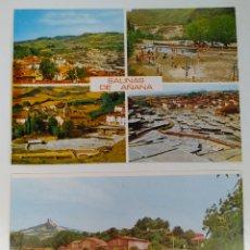 Postales: 4 POSTALES SALINAS DE AÑANA. Lote 244675595