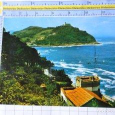 Postales: POSTAL DE GUIPÚZCOA, SAN SEBASTIAN. AÑO 1969. VISTA DESDE LA ATALAYA DEL MONTE URGULL. 3563. Lote 245122390
