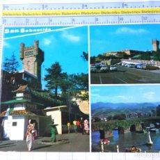 Postales: POSTAL DE GUIPÚZCOA, SAN SEBASTIAN. AÑO 1974. PARQUE DE ATRACCIONES MONTE IGUELDO. 21 GALARZA. 3567. Lote 245122705