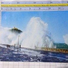 Postales: POSTAL DE GUIPÚZCOA, SAN SEBASTIAN. AÑO 1963. TEMPORAL. 33 MANIPEL. 3568. Lote 245122765