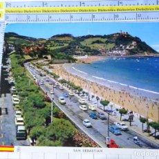 Postales: POSTAL DE GUIPÚZCOA, SAN SEBASTIAN. AÑO 1964. PASEO DE MIRACONCHA. PUBLICIDAD BEBA FANTA DOBLE. 3571. Lote 245123025