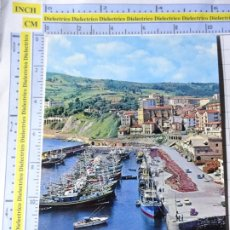 Postales: POSTAL DE GUIPÚZCOA, GUETARIA. AÑO 1965. EL PUERTO. FOTO GAR. 3575. Lote 245123245