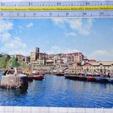 Postales: POSTAL DE GUIPÚZCOA, GUETARIA. AÑO 1970. EL PUERTO. FOTO GAR. 3576. Lote 245123280